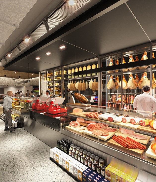 David Jones' new food hall opens