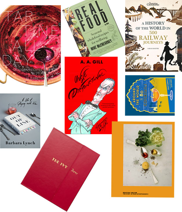 Winter reads food travel