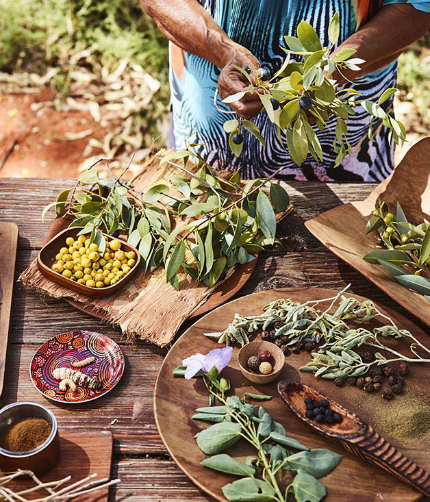 Native ingredients from Voyagers Ayers Rock masterclass