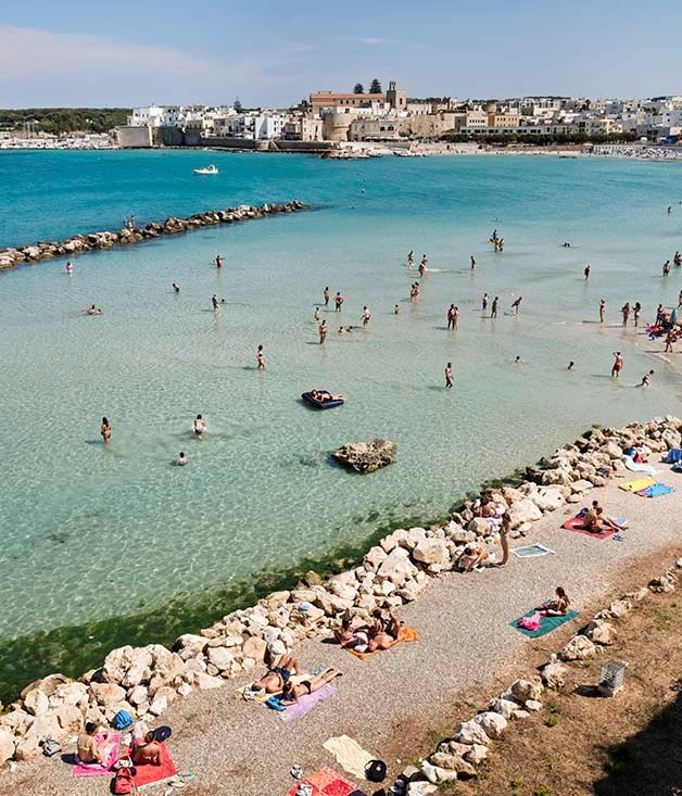 Otranto, midway along Salento's Adriatic coast