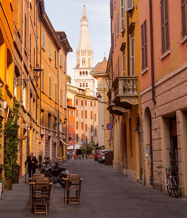 The historic centre of Modena