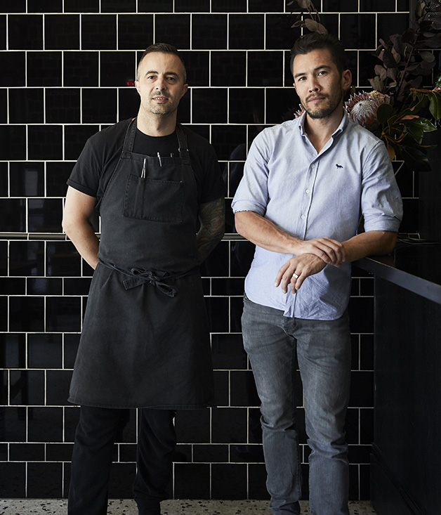 Chef Dave Verheul and co-owner Christian McCabe