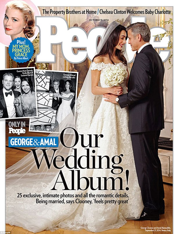 "<a href=""http://www.people.com/article/george-clooney-amal-alamuddin-wedding-photo"">PEOPLE Magazine</a> also released exclusive photos from the wedding, in conjunction with Hello. ""George and Amal radiated love all night,"" Alamuddin's mother, Baria, told the US Magazine. ""The wedding was so unbelievably special, it was legendary. These three days – the friends, the families, the atmosphere, everything – will stay with me all the rest of my life."" <br><br>As for the Australian release, Women's Day have the exclusive, with the new issue going on sale Thursday October 2."