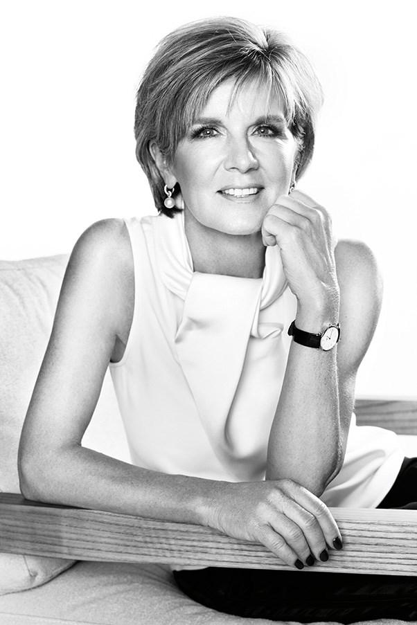 Julie Bishop is BAZAAR's Woman of the Year