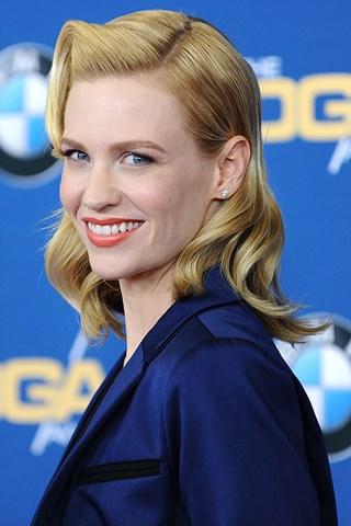 January Jones dyes her hair
