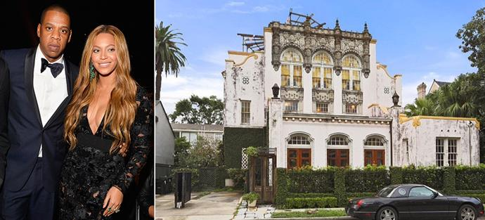 beyonce and jay may have just bought a stately new orleans home harper 39 s bazaar. Black Bedroom Furniture Sets. Home Design Ideas