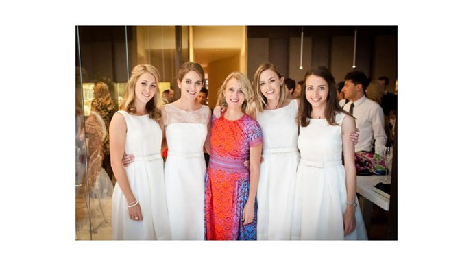 <strong>Emily Blunt</strong> <br><br>Emily looked gorgeous as ever in this bridal party for her sister Felicity, who married Blunt's <em>Devil Wears Prada</em> co-star Stanley Tucci in 2012.