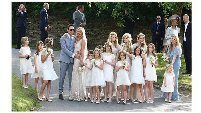 <strong>Lottie Moss</strong> <br><br>Moss junior looked breathtaking for her older half-sister Kate Moss.