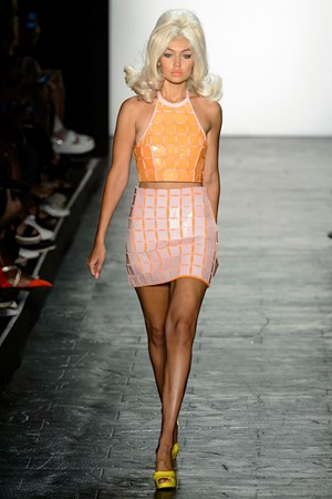 Jeremy Scott spring summer 2016 New York fashion week show
