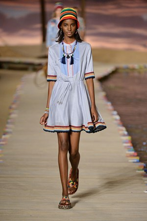 Tommy Hilfiger spring summer 2016 New York fashion week show
