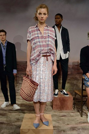 J. Crew spring summer 2016 New York fashion week show