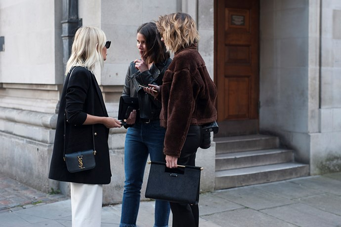 Zooming in on London's street style set...