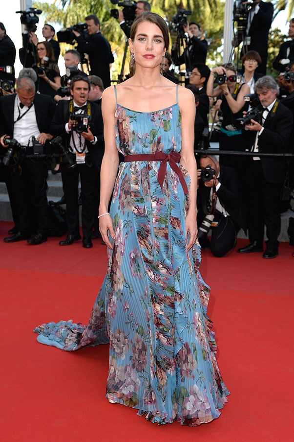 <strong>GUCCI</strong><BR><BR> Charlotte Casiraghi at Cannes