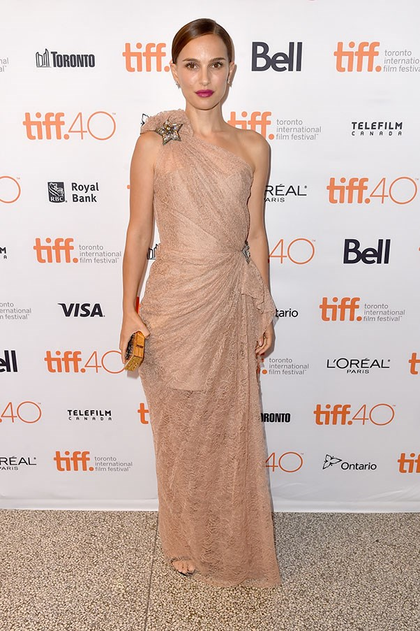 <strong>LANVIN</strong><BR><BR> Natalie Portman at the Toronto film festival
