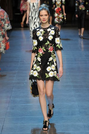 Dolce & Gabbana spring summer 2016 New York fashion week show