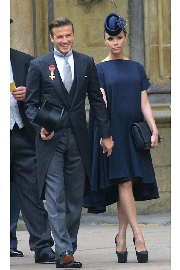 Victoria Beckham, 2011 (attending the royal wedding).