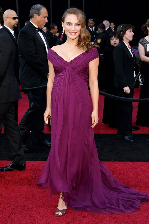 Natalie Portman, 2011 (at the Oscars, where she won 'Best Actress and wore Rodarte).
