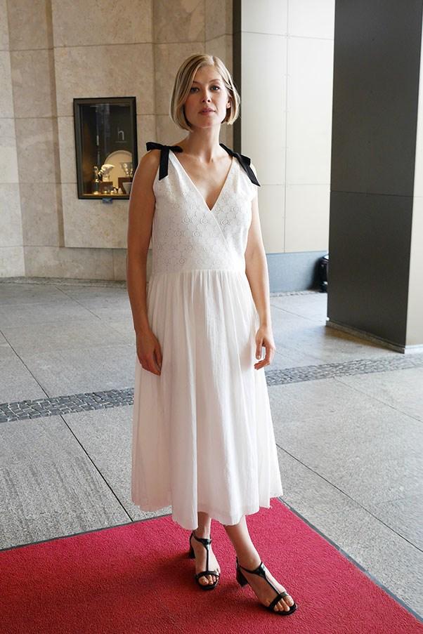 Rosamund Pike, 2014.