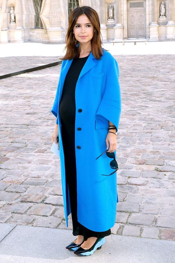 Miroslava Duma, 2014 (outside Christian Dior S/S 15).