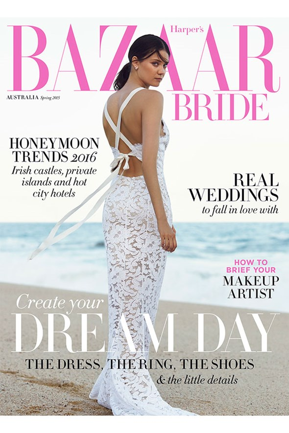 first look bazaar bride