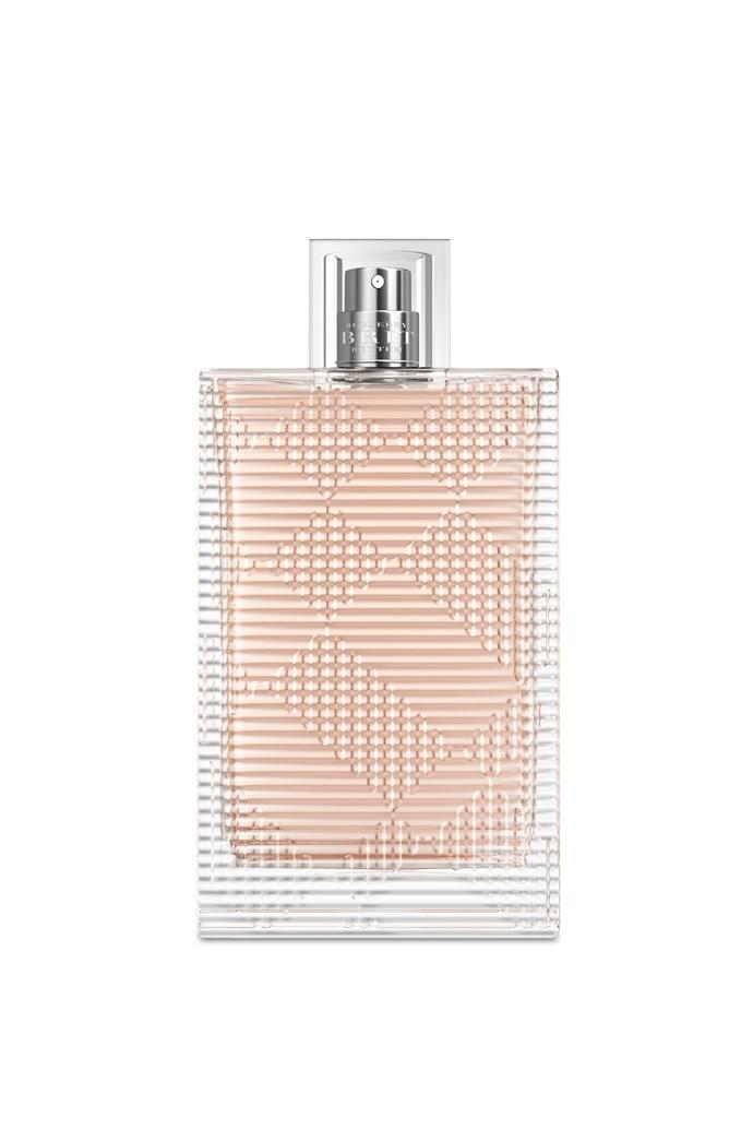 """My favourite fragrance is My Burberry Brit."" <br><br>Burberry Brit Rhythm, $132, at <a href=""http://shop.davidjones.com.au/djs/en/davidjones/burberry-brit-rhythm-womens-90ml-eau-de-toilette"">David Jones</a>"