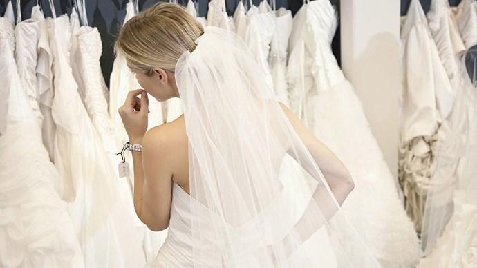 Bridal dress shopping