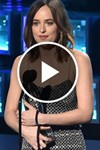 Dakota Johnson Peoples Choice Wardrobe Malfunction