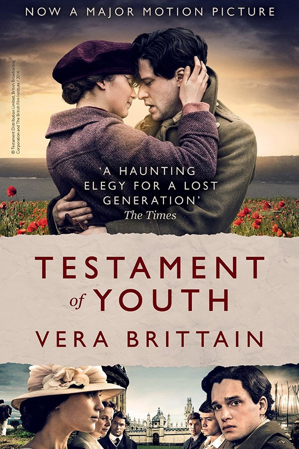 <strong>Testament of Youth by Vera Brittain</strong><br><br> Notable feminist and pacifist Vera Brittain's memoir about working as a nurse in World War One, while her brother and fiance went to fight, is considered one of the most powerful anti-war books ever written.