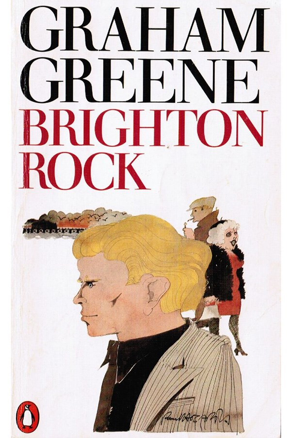 <strong>Brighton Rock by Graham Greene</strong><br><br> Pinkie Brown, a sociopathic wannabe gangster is the antihero of this crime novel. Things come to a head when a kind-hearted woman named Ida (she was played by Helen Mirren in the 2010 film adaptation, to give you an idea) decides to try and bring Pinkie down.