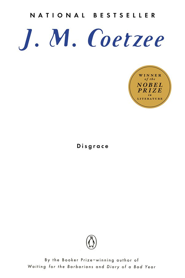 <strong>Disgrace by J. M. Coetzee</strong><br><br> Coetzee's Nobel Prize-winning novel explores the intense race relations that existed in post-Apartheid South Africa, focusing on a white man who's daughter is raped by a gang of black criminals.