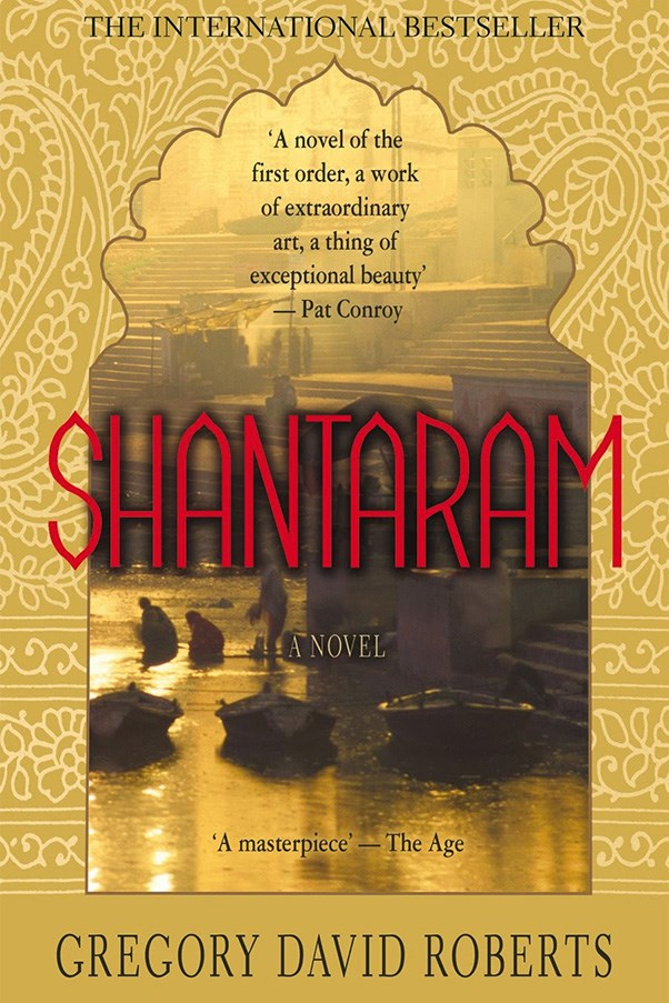 <strong>Shantaram by Gregory David Roberts</strong><br><br> In 1980 Gregory David Roberts, a convicted bank robber, escaped from a Victorian prison in 1980 and fled to India, where he lived for years. This is the basis of his seminal novel.