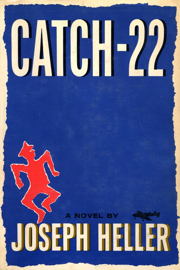 <strong>Catch-22 by Joseph Heller</strong><br><br> Heller's satirical World War II-set novel is most notable for its style, in which the same event is told through differing points of view until the full story - and often the punchline of a joke - becomes clear.