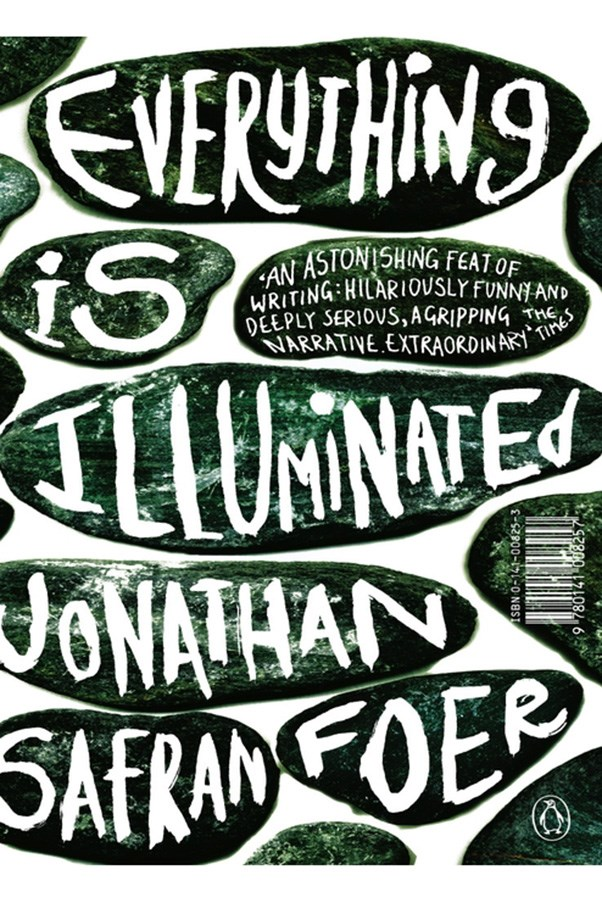 <strong>Everything is Illuminated by Jonathan Safran Foer</strong><br><br> Jonathan Safran-Foer's experimental first novel stars himself as the protagonist, who journeys to the Ukraine to find the woman who saved his Jewish grandfather during the Holocaust.