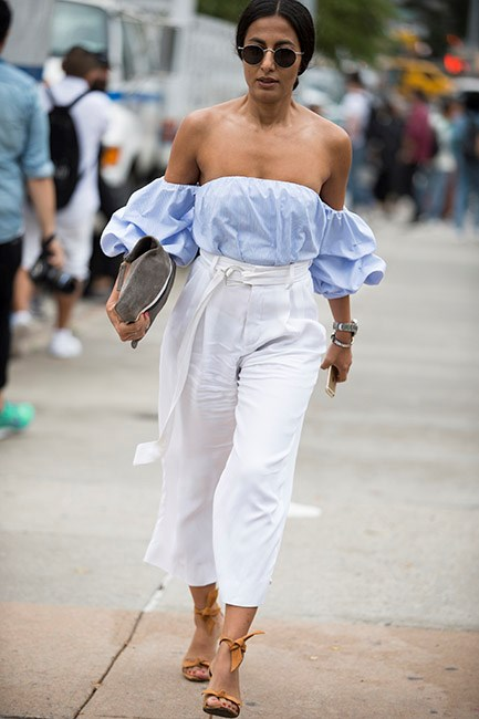 Hoik the sleeves up between nine and five, then shrug them off as you're leaving the office.