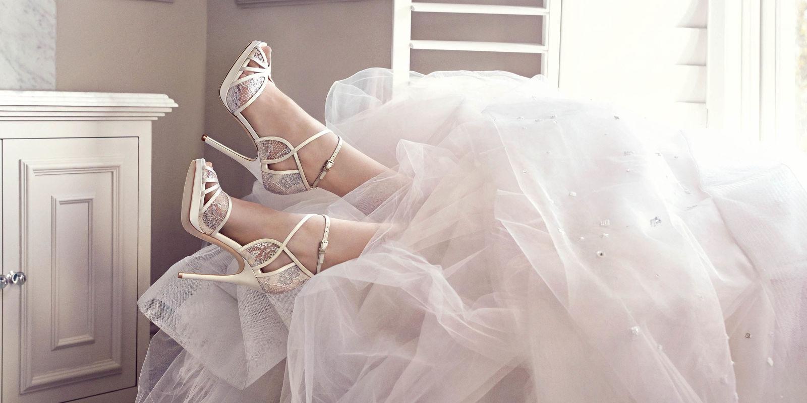 Jimmy choo bridal shoes harper s bazaar