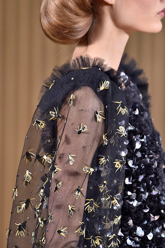 Detail from Chanel Haute Couture S/S16