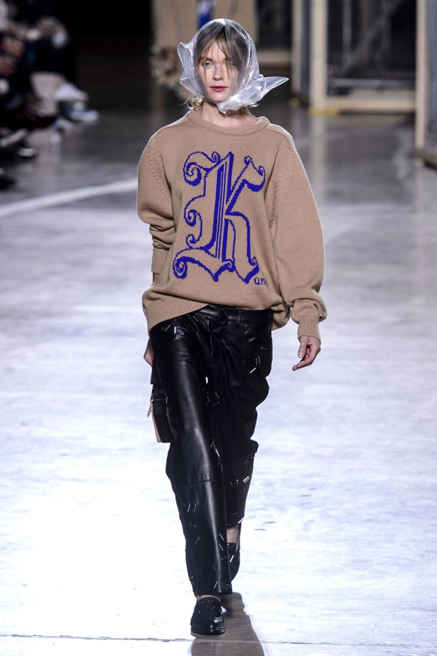 <strong>Christopher Kane</strong> <br><br> Christopher Kane wears the mantle of naughty boy of fashion well. He's provocative, mischievous and a touch devious (those cable ties from spring were handed out as gifts this time. Clever branding, but it should have come with strict directions to use as a hair tie only and not style it the way he did on the runway. Catch my autoerotic asphyxiation drift?). So good thing that amongst all the bells, whistles and tricks, there was solid design. Starting, for fall, with those terrific knits. And if you're name starts with a K, you're in super luck with his intarsia sweaters.