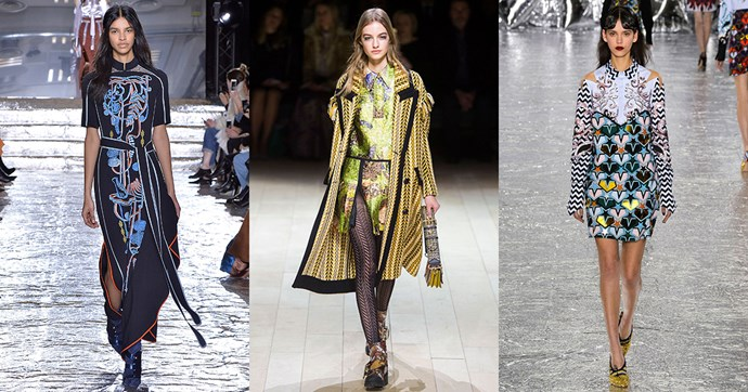 Click through to see London's best runway looks.