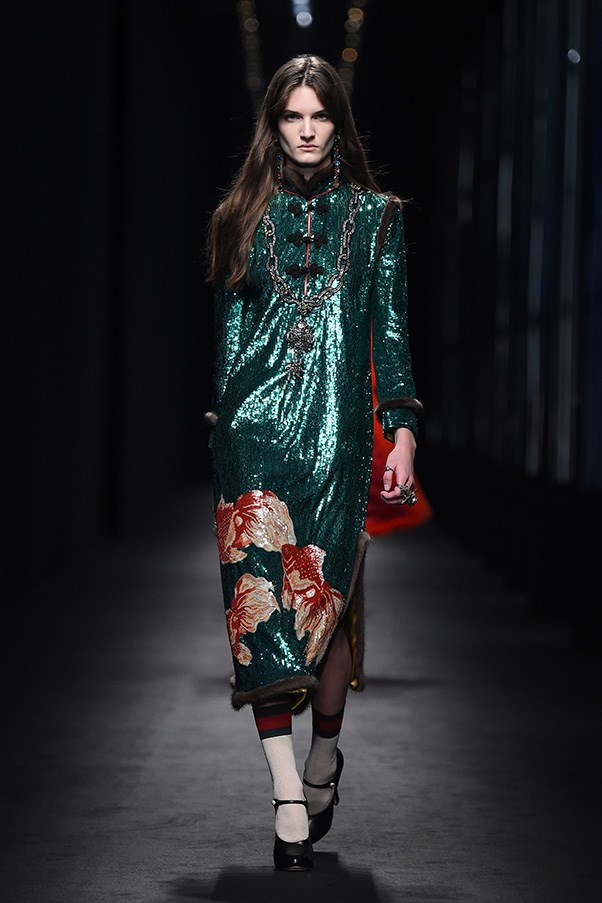 "<strong>GUCCI</strong><br><br> Last year at this time, everyone was asking, ""Who is Alessandro Michele?"" Prior to his first show for Gucci - which he threw together in literally weeks - he was one of the unsung behind-the-curtain heroes. What a difference a year makes, eh? Now he's <em>the</em> designer to watch, wear and chase. In a handful of collections he has both re-energised Gucci and the industry and he has created his signature look - eccentric, lush, colourful. Crazy good."