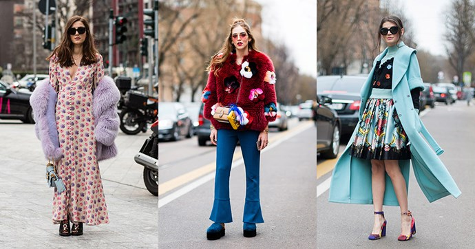 The best street style moments from Milan fashion week.