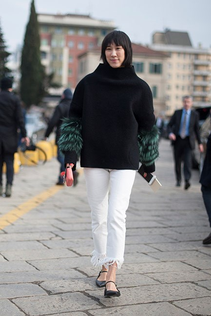 Eva Chen in Fendi