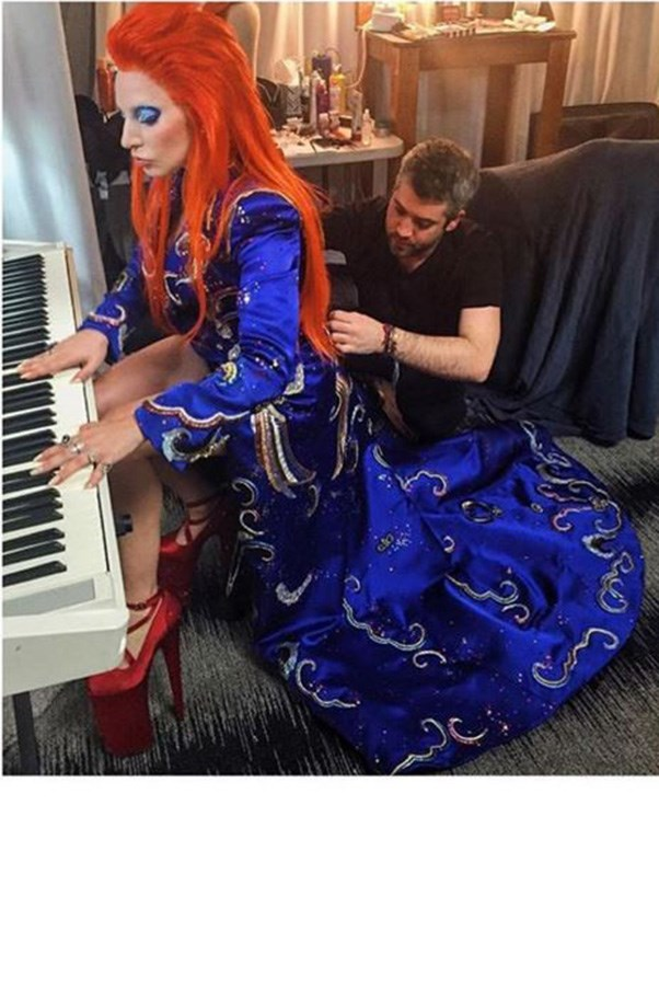 "<strong>Brandon Maxwell</strong> <br><br> <strong>Client: </strong>Lady Gaga <br><br> <strong>Best work:</strong> The custom Marc Jacobs suit Gaga wore to perform her David Bowie tribute at this year's Grammys (pictured). <br><br> <strong>Instagram: </strong><a href=""https://www.instagram.com/brandonmaxwell/"">@brandonmaxwell</a>"