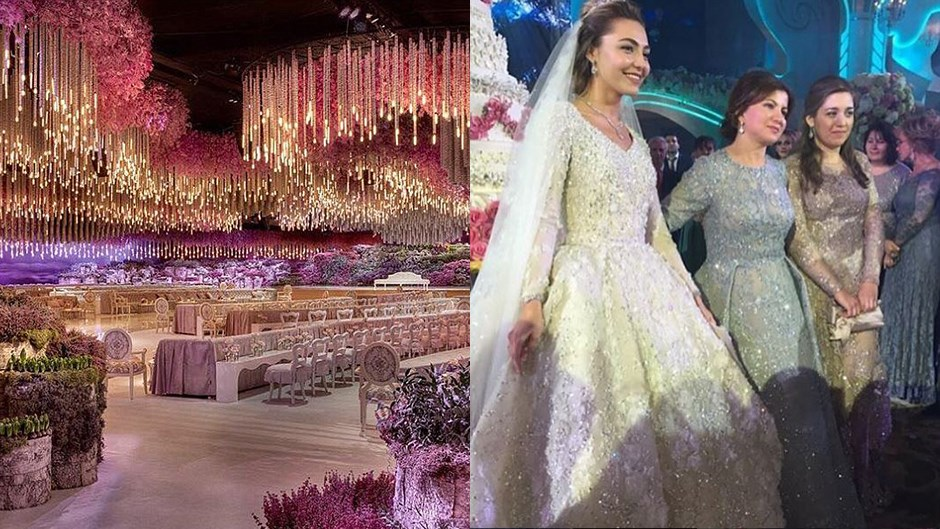 this is what a one billion dollar wedding looks like
