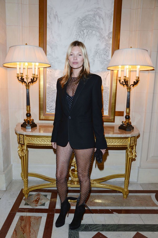<strong>Kate Moss</strong><br><br> At the launch of <em>CR Fashion Book</em> Issue 2, 2013