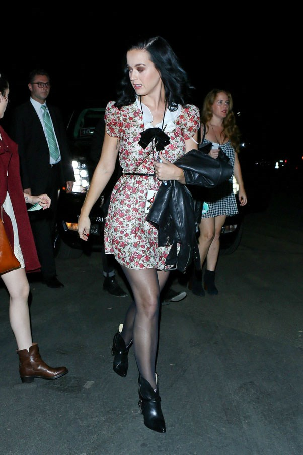 <strong>Katy Perry</strong><br><br> Out and about, October 2013