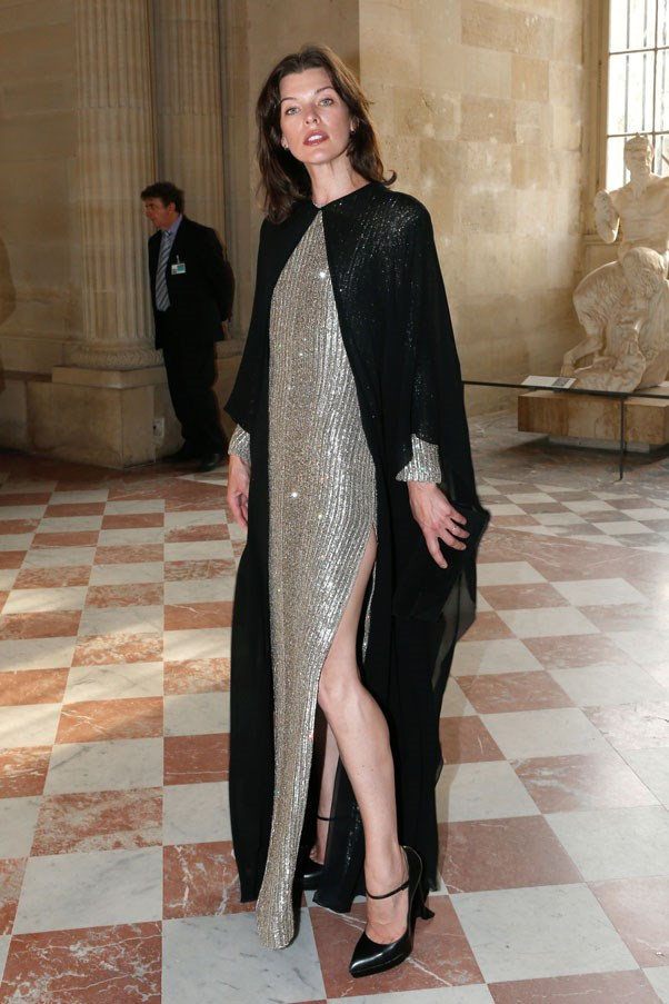 <strong>Milla Jovovich</strong><br><br> At the Liaisons Au Louvre III, 2013