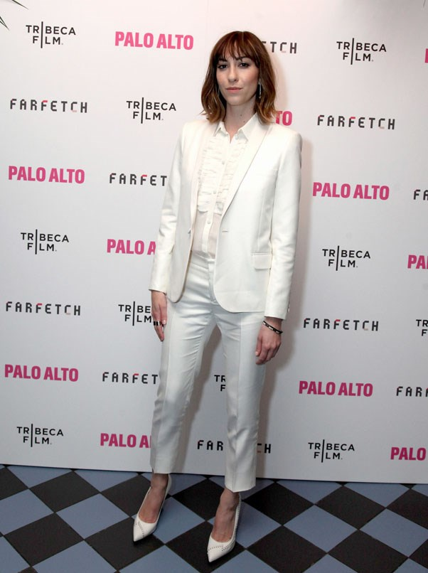 <strong>Gia Coppola</strong> <br><br> At the Tribeca film festival after party, 2014
