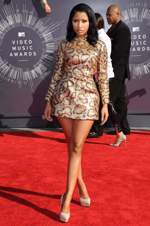<strong>Nicki Minaj</strong><br><br> At the MTV Music Video Awards, 2014