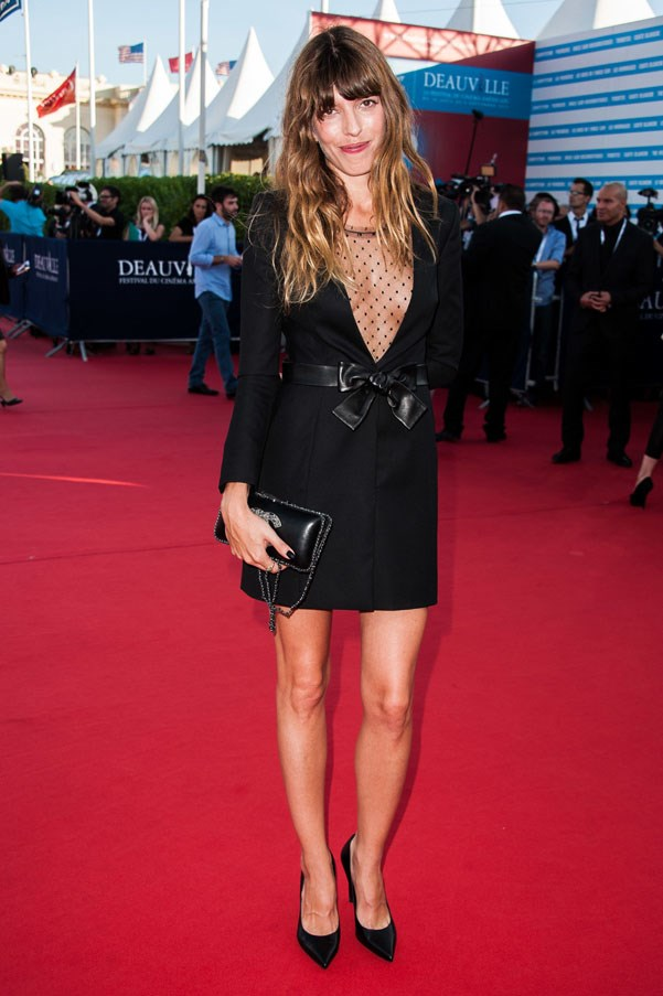 <strong>Lou Doillon</strong><br><br> At the Deauville American Festivals' Opening Ceremony, 2013