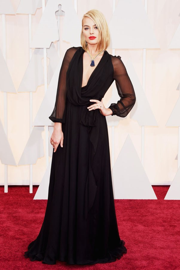 <strong>Margot Robbie</strong> <br><br> 87th Annual Academy Awards, 2015